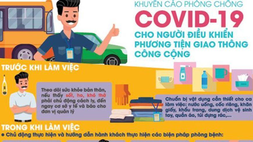 khuyến cáo phòng chống covid-19